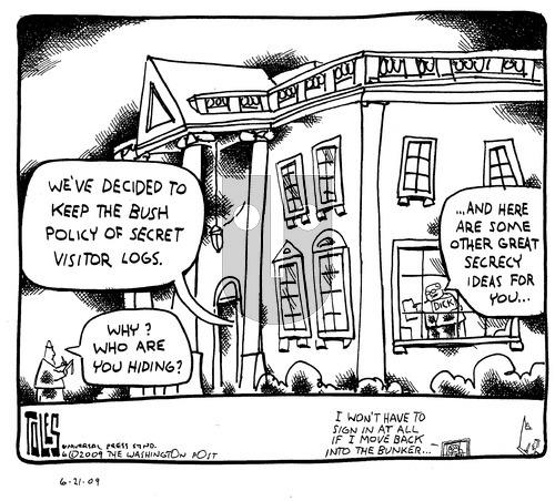 Tom Toles on Sunday June 21, 2009 Comic Strip