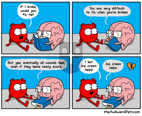The Awkward Yeti on Monday September 9, 2019 Comic Strip