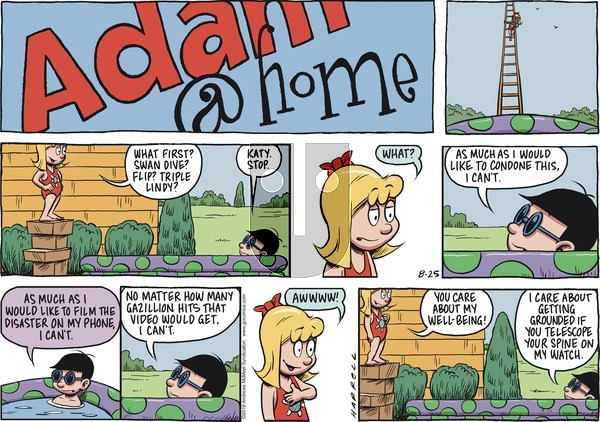 Adam@Home on Sunday August 25, 2019 Comic Strip