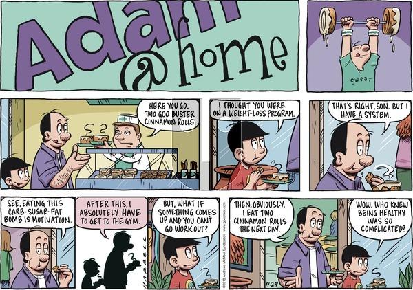 Adam@Home on April 29, 2018 Comic Strip