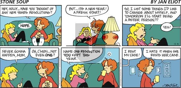 Stone Soup on Sunday December 31, 2017 Comic Strip