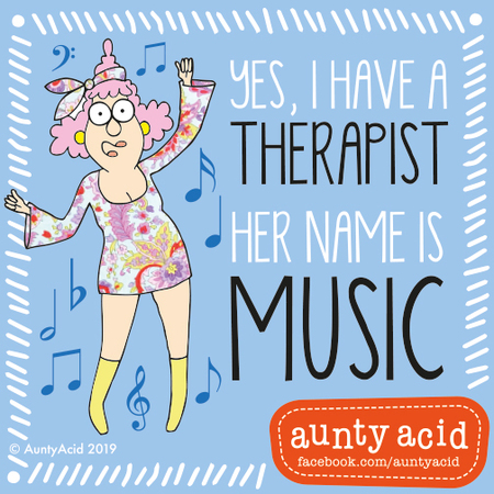 Aunty Acid by Ged Backland for March 20, 2019