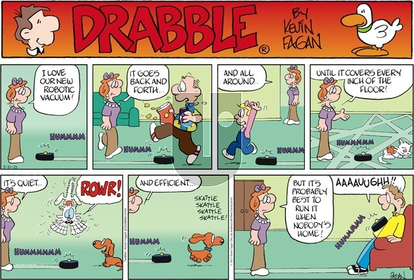 Drabble - Sunday February 21, 2021 Comic Strip