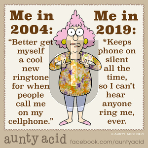 Aunty Acid on Thursday December 5, 2019 Comic Strip