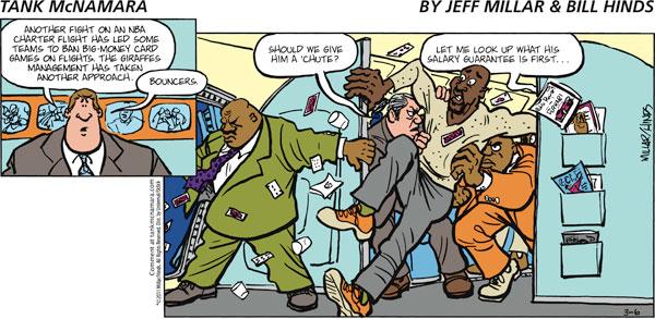 Tank McNamara for Mar 6, 2011 Comic Strip