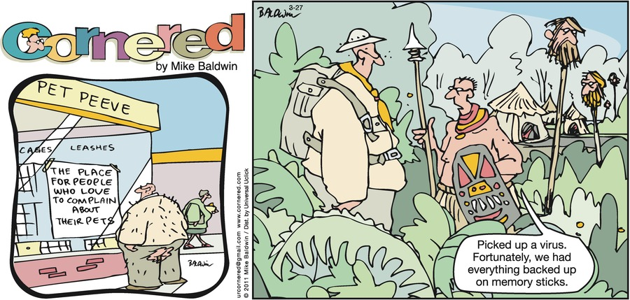 Cornered Comic Strip for March 27, 2011