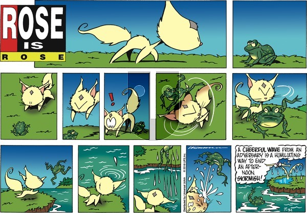 Rose is Rose - Sunday July 31, 2016 Comic Strip