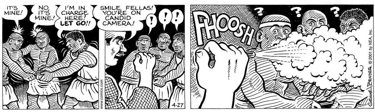 Alley Oop for Apr 27, 2001 Comic Strip