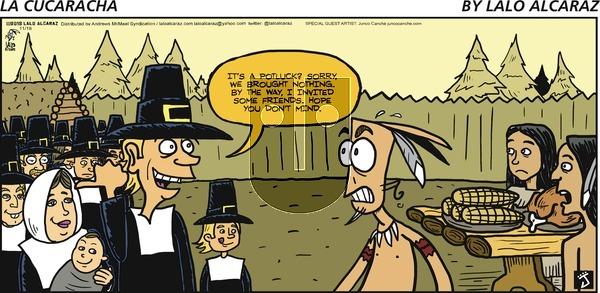 La Cucaracha on November 18, 2018 Comic Strip