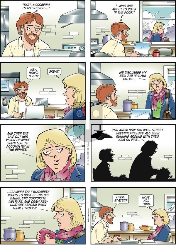Doonesbury on Sunday December 16, 2012 Comic Strip