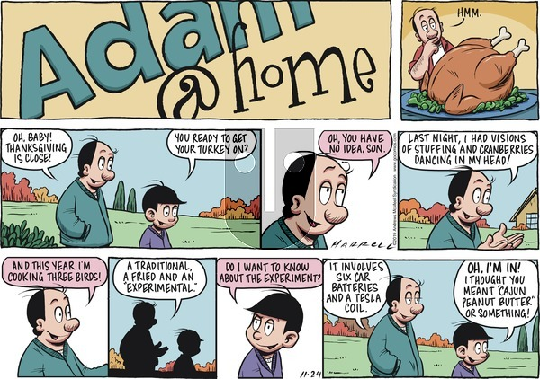 Adam@Home on Sunday November 24, 2019 Comic Strip
