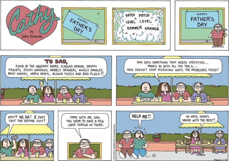 Cathy Classics Comic Strip for June 20, 2010