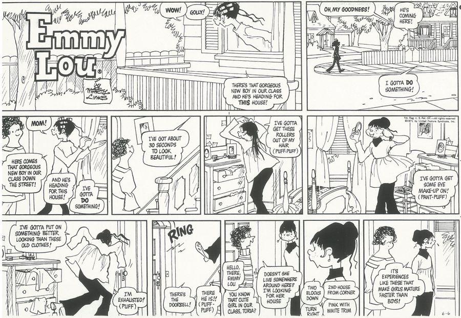 Emmy Lou for Jan 21, 2018 Comic Strip