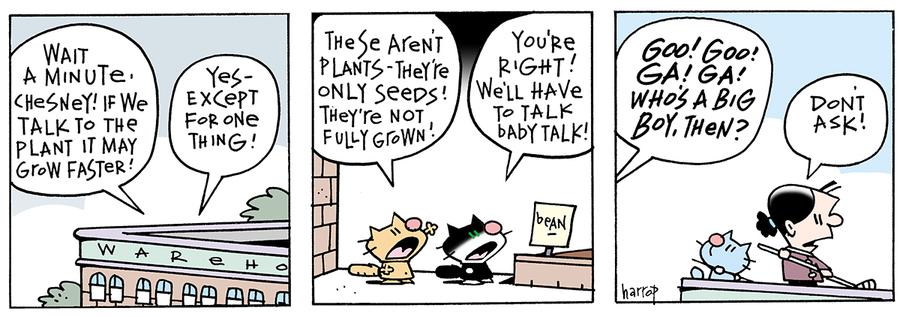 Ten Cats for Mar 29, 2013 Comic Strip