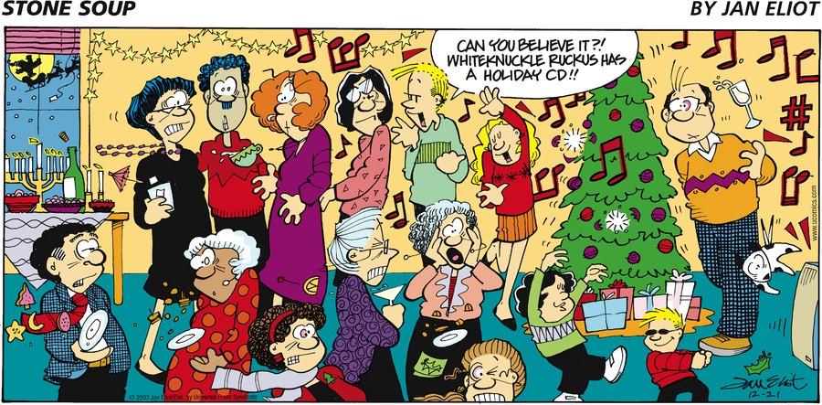 Stone Soup Comic Strip for December 21, 2003