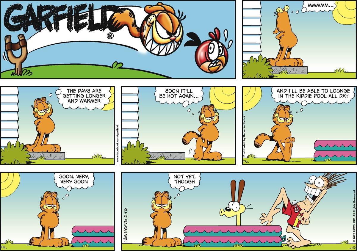 Garfield Comic Strip for May 13, 2012