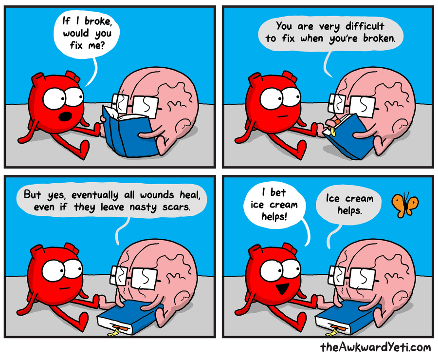 The Awkward Yeti by Nick Seluk for September 09, 2019