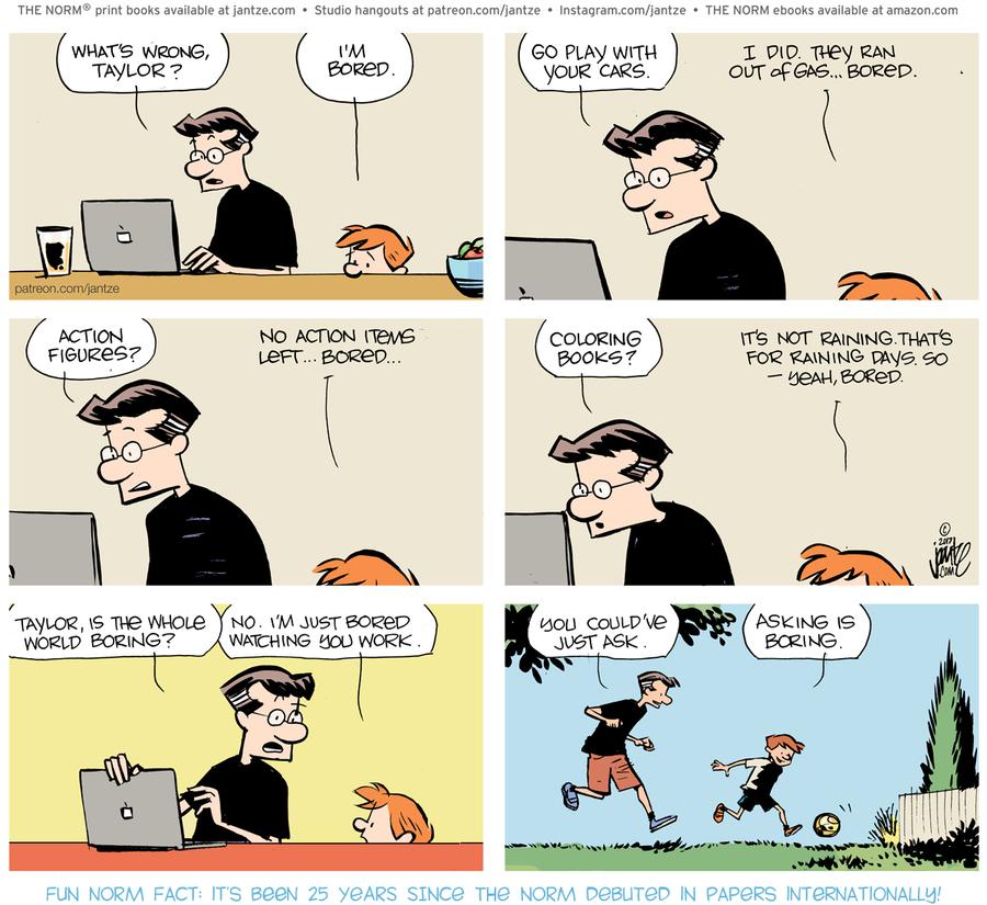 The Norm Classics Comic Strip for April 20, 2021