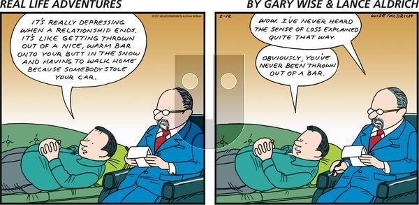 Real Life Adventures - Sunday February 12, 2017 Comic Strip