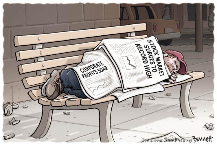 Clay Bennett Comic Strip for March 07, 2013