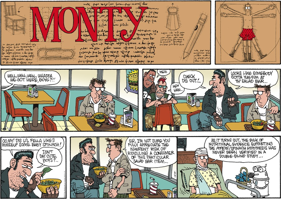 Monty for Jun 9, 2013 Comic Strip
