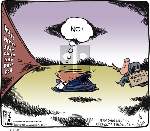 Tom Toles on Sunday May 21, 2017 Comic Strip