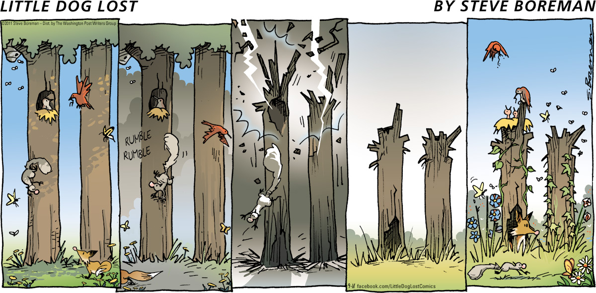 Little Dog Lost for Sep 11, 2011 Comic Strip