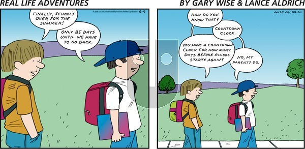 Real Life Adventures on Sunday June 9, 2019 Comic Strip