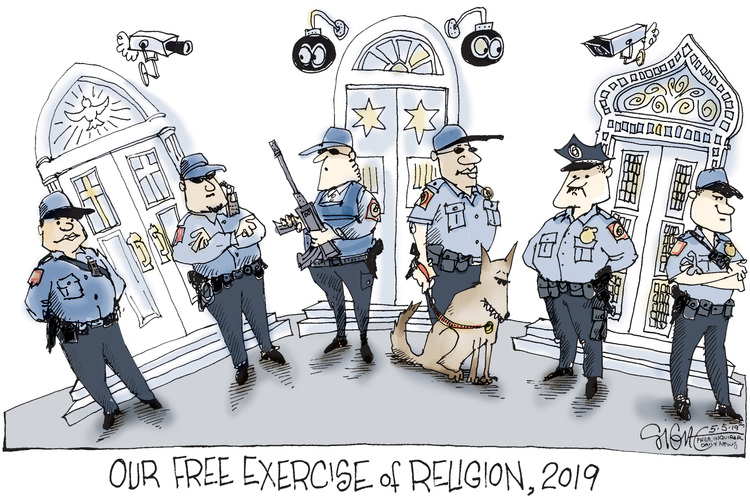 Signe Wilkinson by Signe Wilkinson for May 05, 2019