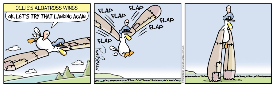 Ollie and Quentin Comic Strip for September 25, 2021