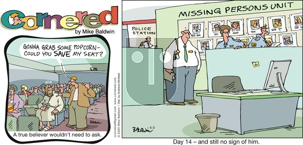 Cornered on Sunday May 3, 2020 Comic Strip