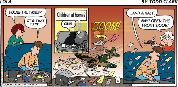Lola on Sunday March 29, 2020 Comic Strip