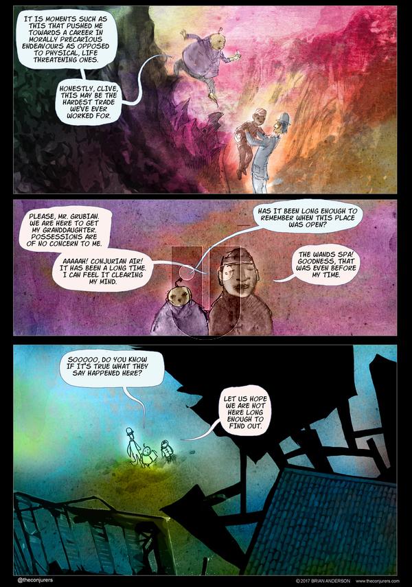 The Conjurers on Thursday April 27, 2017 Comic Strip