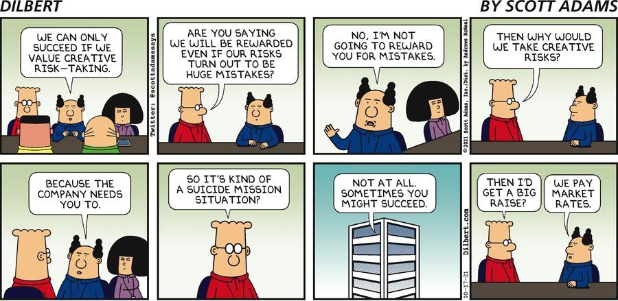 Sunday   Creative Ideas - Dilbert by Scott Adams