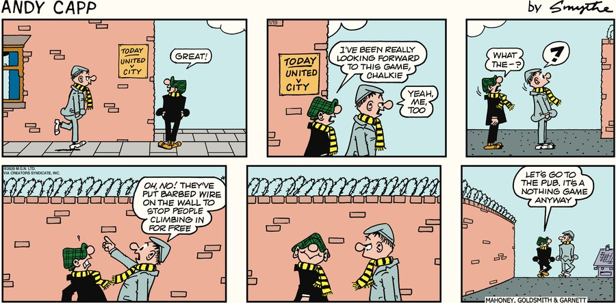 Andy Capp Comic Strip for January 19, 2020