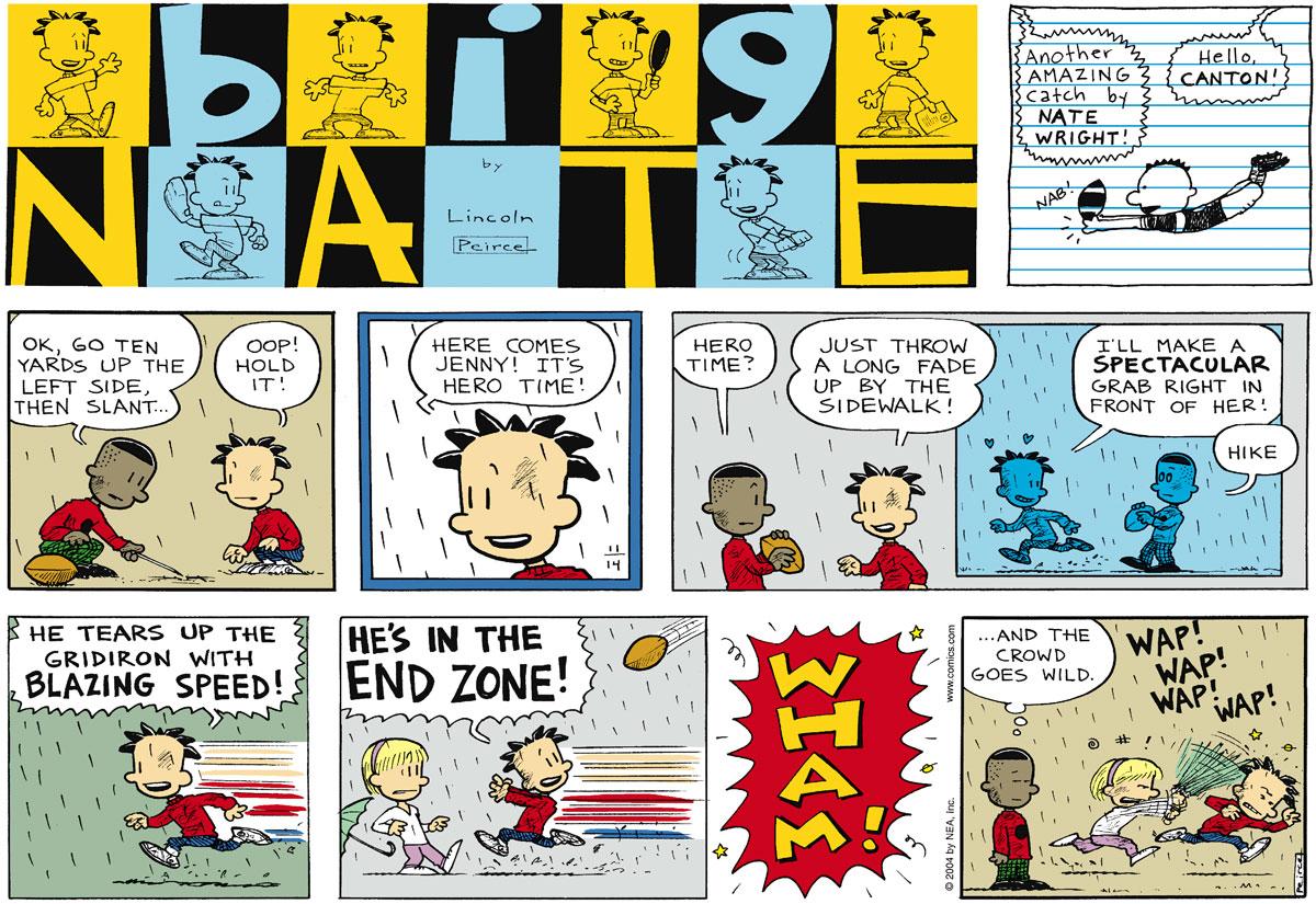 Big Nate Comic Strip for November 14, 2004