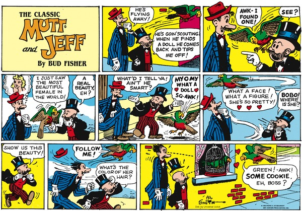 Collectible Print of mutt and jeff
