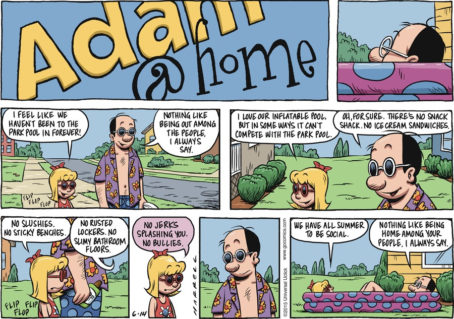Adam@Home for Jun 14, 2015 Comic Strip