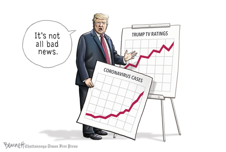 Clay Bennett Comic Strip for March 31, 2020