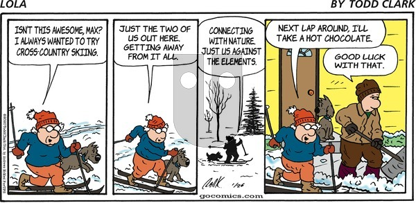 Lola on Sunday January 26, 2020 Comic Strip