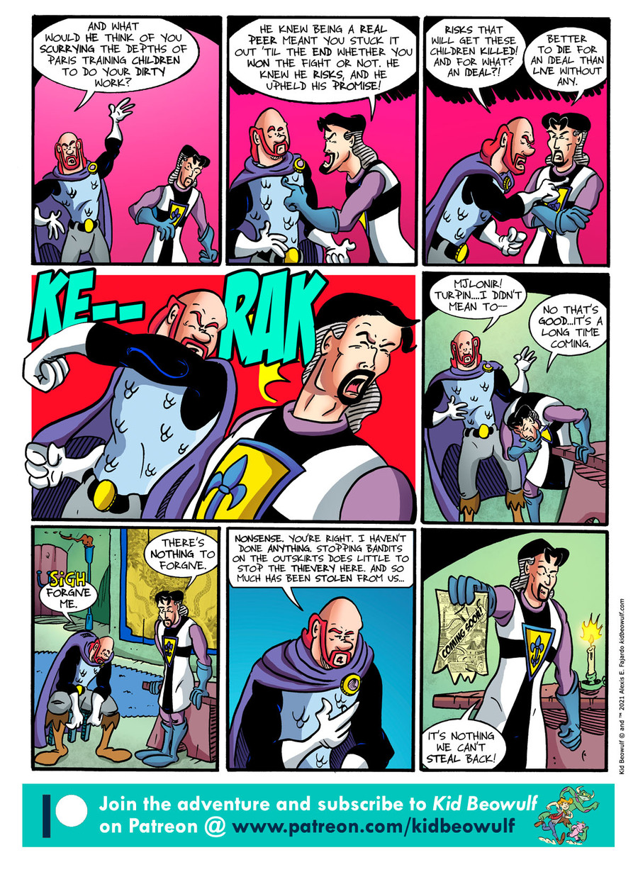 Kid Beowulf Comic Strip for April 23, 2021
