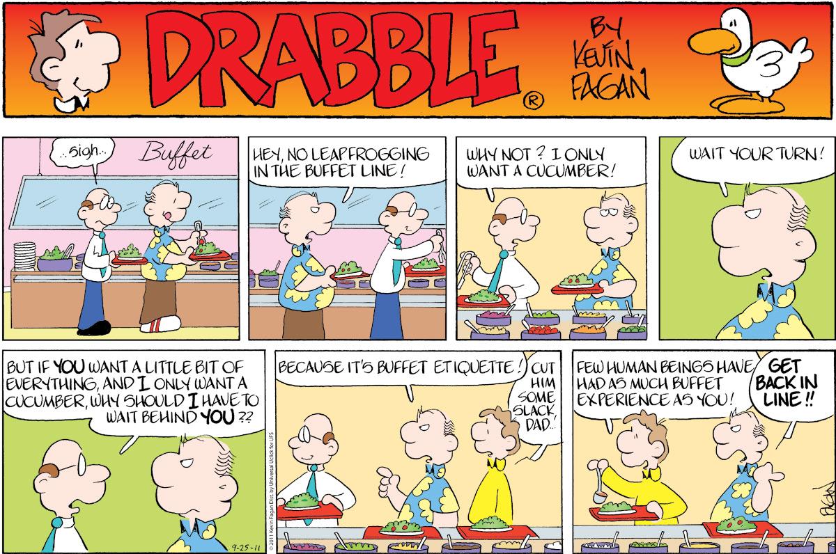 Drabble for Sep 25, 2011 Comic Strip