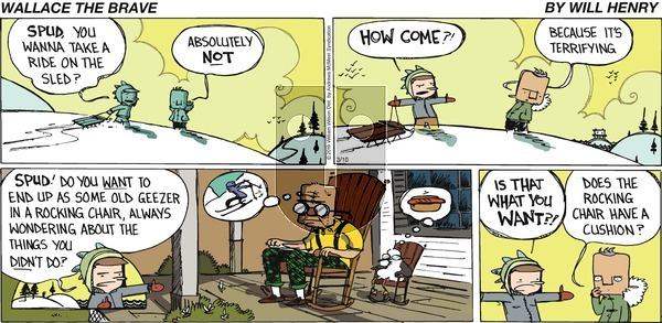 Wallace the Brave on Sunday March 10, 2019 Comic Strip