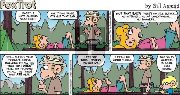 FoxTrot on Sunday August 20, 2017 Comic Strip