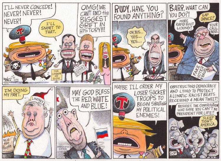 Chris Britt Comic Strip for November 11, 2020