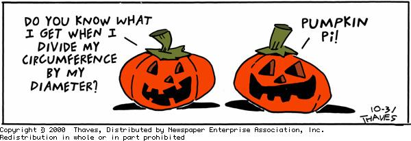 Frank and Ernest Comic Strip for October 31, 2000