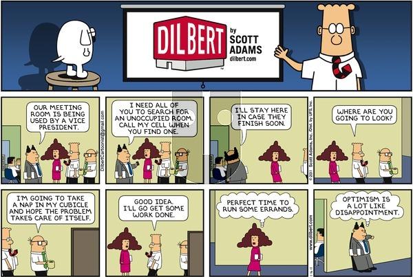 Dilbert on Sunday January 16, 2011 Comic Strip