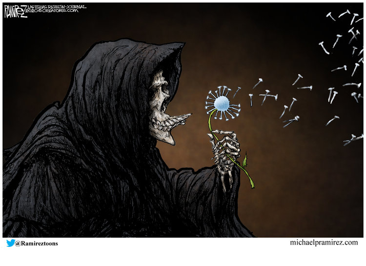Michael Ramirez Comic Strip for November 20, 2020