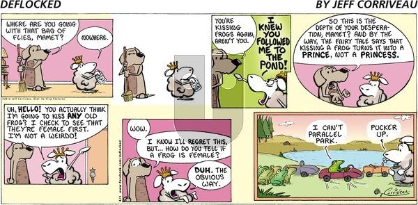 DeFlocked on Sunday April 1, 2012 Comic Strip