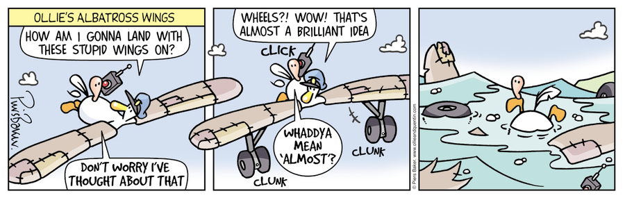 Ollie and Quentin Comic Strip for September 24, 2021